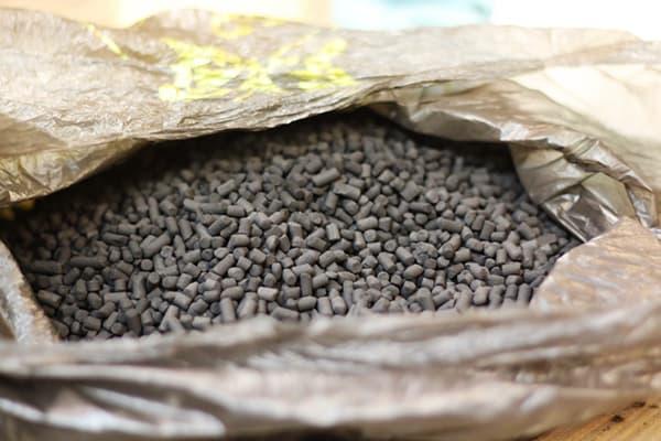 Гранулированный уголь для вытяжки