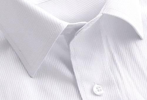 Воротничок белоснежной рубашки