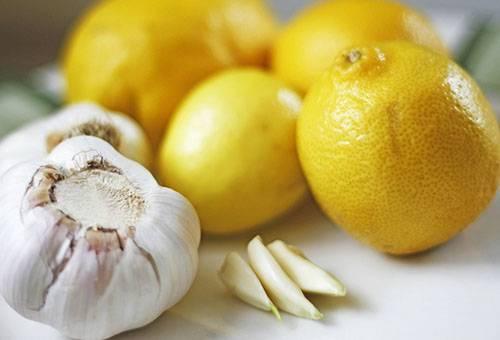 Чеснок и лимоны