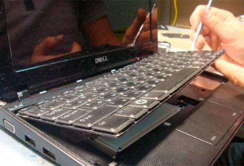 Глубокая чистка клавиатуры