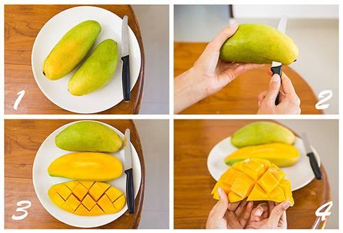 Способ подачи манго
