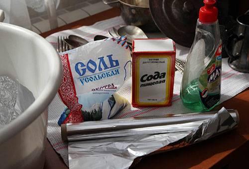 Средства для чистки мельхиора