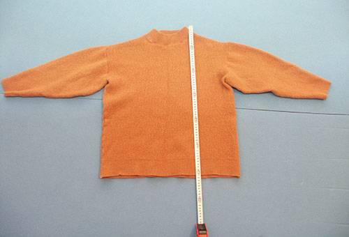 Севший после стирки свитер