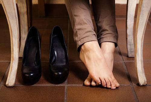 Кожаные туфли жмут