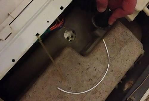 Инородный предмет, извлеченный из стиральной машины