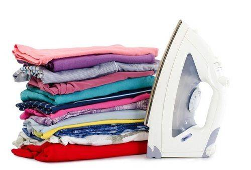 сушка одежды утюгом