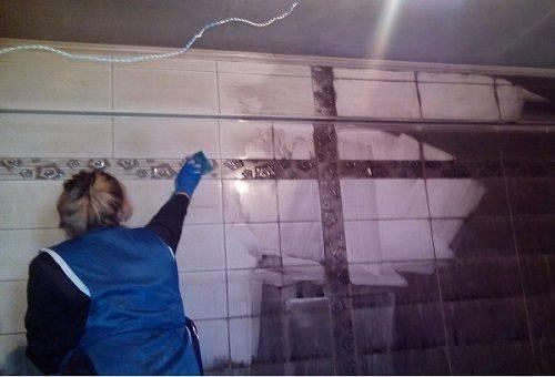 уборка на кухне после пожара