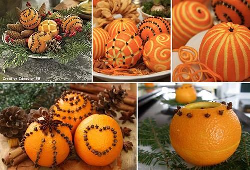 Апельсиновые помандеры