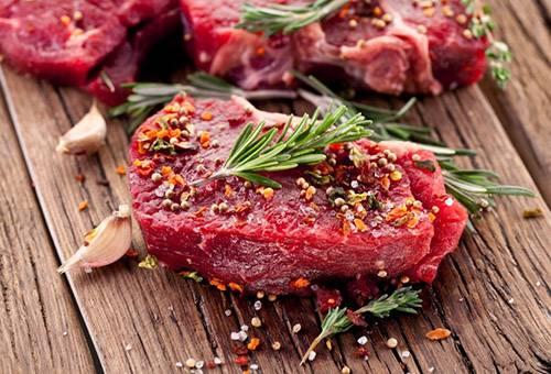 Мясо со специями