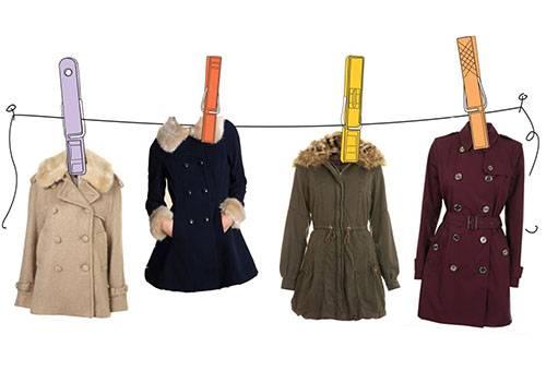 Сушка пальто