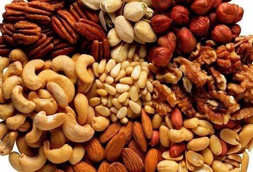 орешки разных сортов