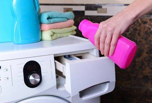 применение кондиционера для стиральной машины