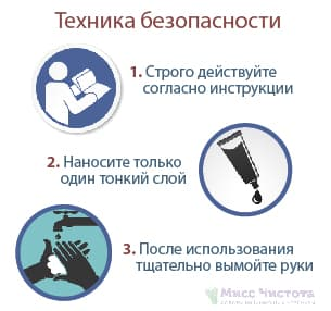 Меры безопасности при обработке Финалгоном