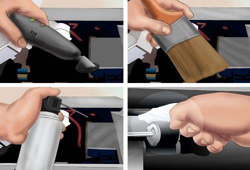 процесс чистки принтера 2