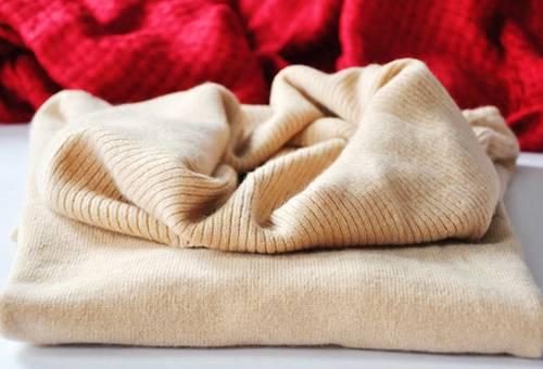 Постиранный свитер из кашемира