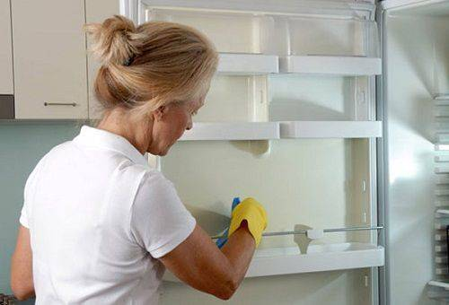 чистка холодильника