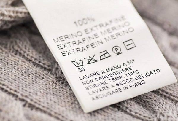 Ярлычок на одежде
