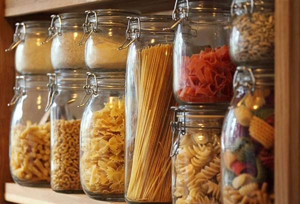 Хранение круп и макаронных изделий