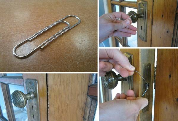 Способы открывания двери