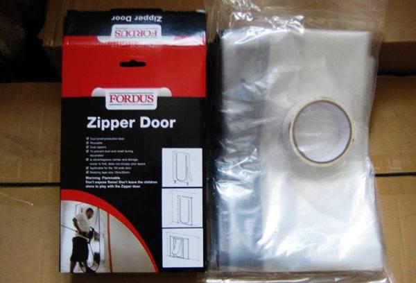 Пленка для защиты окон и дверей при ремонте