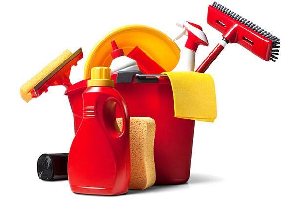 Инвентарь и средства для уборки