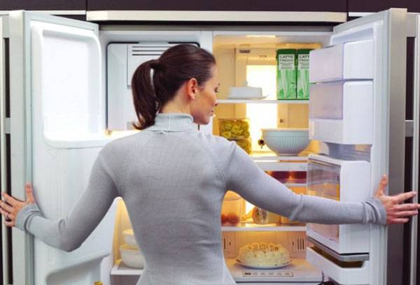 Ревизия продуктов в холодильнике