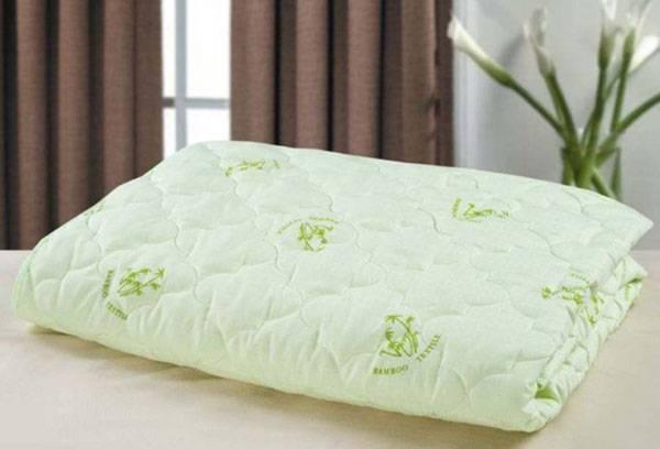 Сложенное бамбуковое одеяло