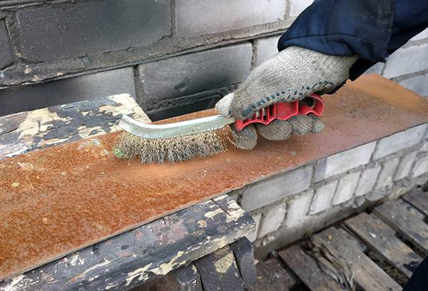 Очистка металл от ржавчины