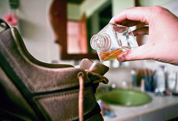 Эфирное масло против запаха обуви