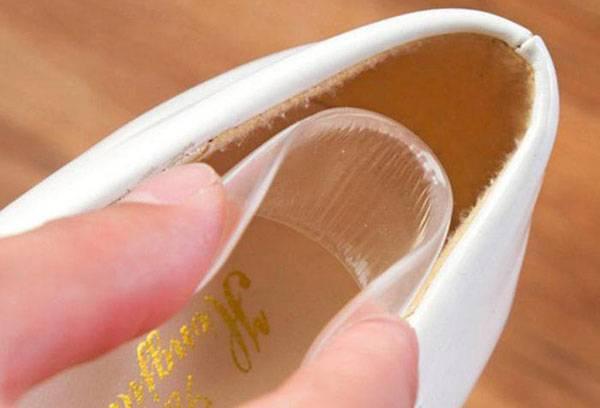 Силиконовая накладка для задника обуви