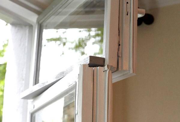 Утепленное деревянное окно