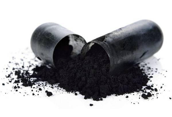 Капсула с активированным углем