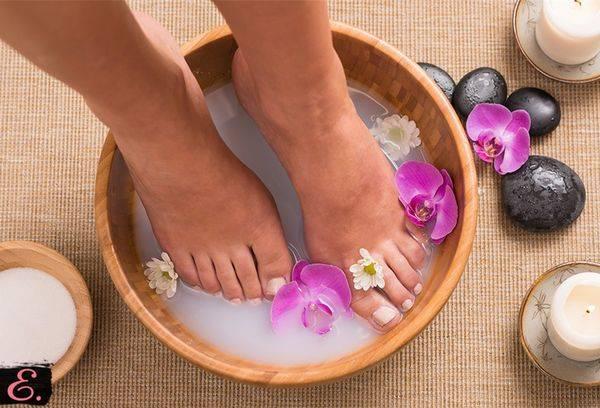 мыльно-содовый раствор для ног