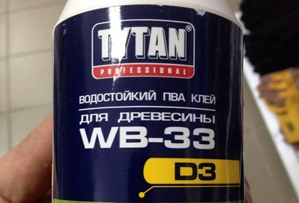 """Клей для древесины """"Титан"""""""