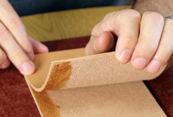 Склеивание фанеры резиновым клеем