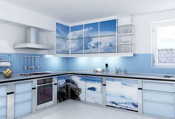 Декор кухни самоклеящейся пленкой
