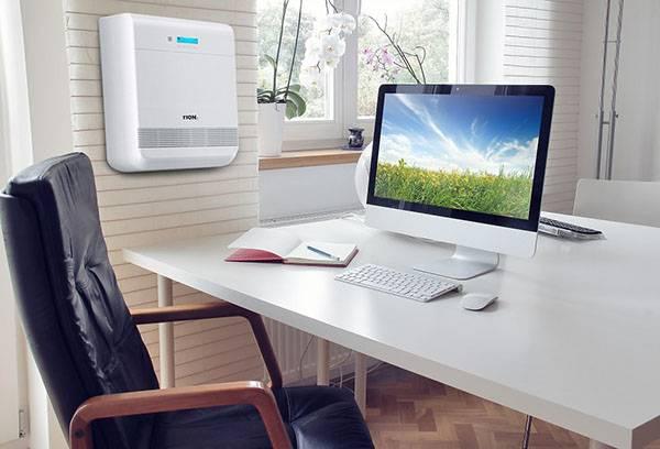 Приточная вентиляция в рабочем кабинете