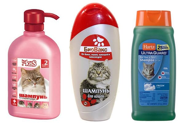 Ветеринарные шампуни