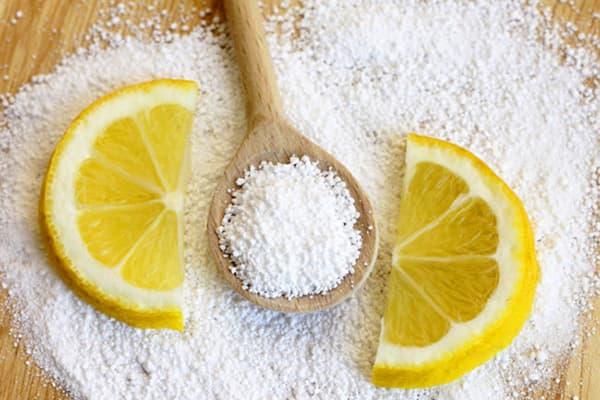 Чистить стиральную машинку лимонной кислотой