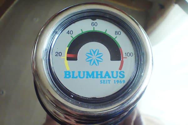 Термометр на кастрюле