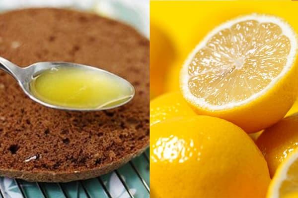 Лимонный сироп для пропитки коржей