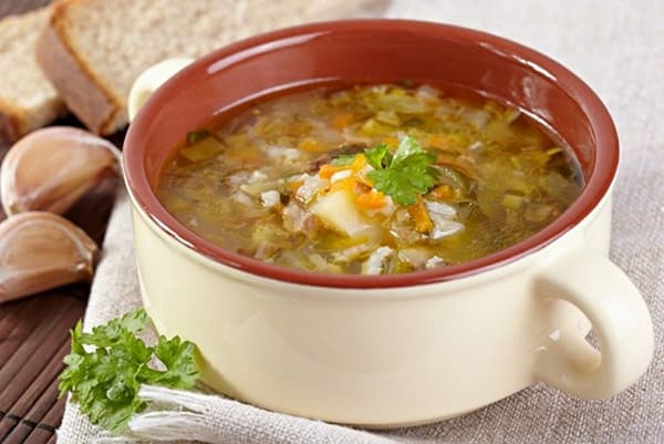 Суп на рассоле