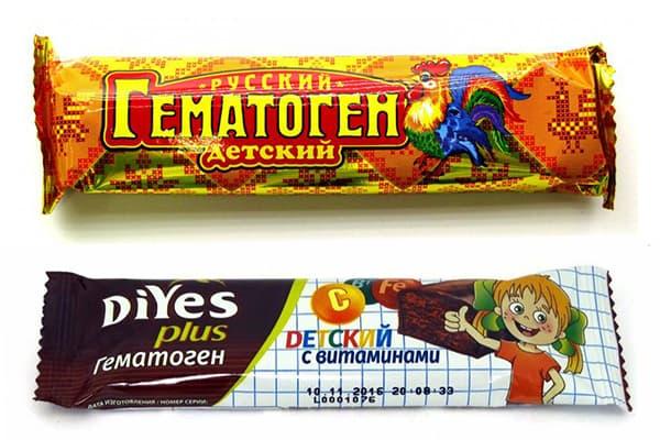 Гематоген для детей