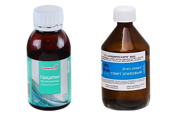 Спирт и глицерин