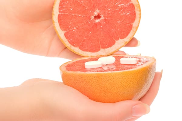 Грейпфрут и таблетки