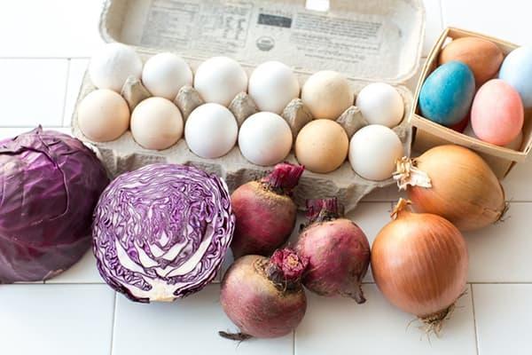 Продукты для окраски яиц
