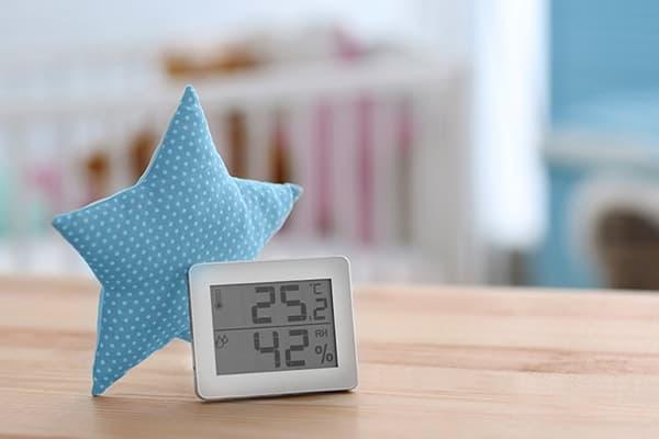 Измерение влажности в детской