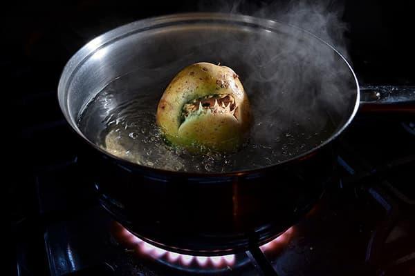 Опасная зеленая картошка