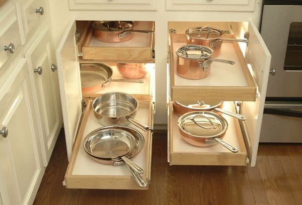 органайзер для хранения сковородок