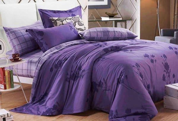 сиреневая постель